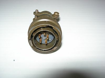 Souriau 851-06EC14-5P50 5 Pin Male Plug Circular Connector