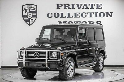 2016 Mercedes-Benz G-Class  2016 Mercedes Benz G63 AMG Low Miles Designo Immaculate 1 Owner Clean Carfax