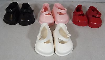Pair Of Cinderella Doll Strap Shoes Size 0 - Various Colours *one Pair Only*
