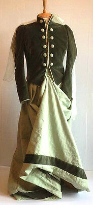 Beautiful Side Saddle Concours D'elegance Outfit Size 8. Famous Provenance