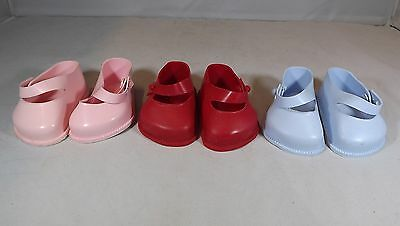 Pair Of Cinderella Doll Strap Shoes Size 4 - Various Colours *one Pair Only*
