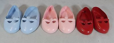 Pair Of Cinderella Doll Debutante Shoes Size 1 - Various Colours *one Pair Only*