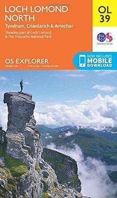 OS Explorer OL39 Loch Lomond North (OS Explorer Map), Ordnance Survey | Map Book