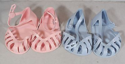 Pair Of Cinderella Doll Sandals Shoes Size 3 - Various Colours *one Pair Only*