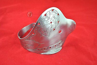 DIY Bowl guard - Ornate for sword blank blades and for reenactment