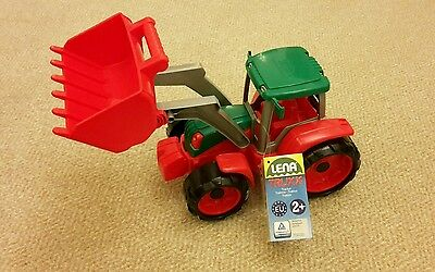 Lena Truxx Green and Red Toy Tractor
