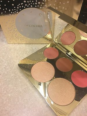 BECCA Jaclyn Hill * CHAMPAGNE COLLECTION FACE PALETTE * 2 Highlighters & 3 Blush