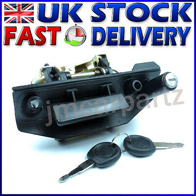 VW T4 TRANSPORTER CARAVELLE 1990-2003 Overhead rear tailgate Handle and lock