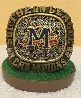 Mississippi Braves 2008 Southern League Championship Ring SGA Statue
