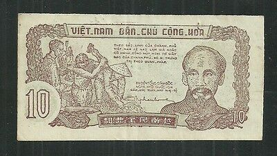 North Viet Nam $10 Dong P.37 (Xf) From 1948.