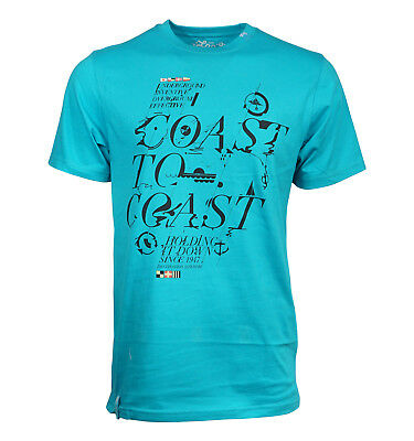 Lrg Lifted Research Group Coast To Coast Men T Shirt