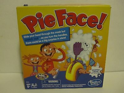 New Hasbro Pie Face! Whipped Cream To The Face Game