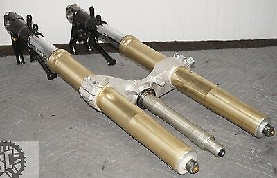 06 07 08 09 10 11 KAWASAKI ZX14R ZX14 Front End Forks Tubes Suspension STRAIGHT