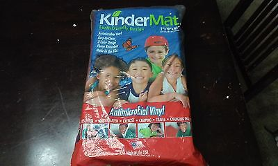 """New KINDERMAT Sleeping & Exercise Mat 1""""x19""""x45"""" Antimicrobial Back To School"""