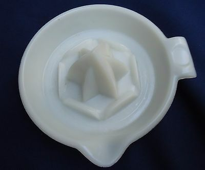Vintage Hazel Atlas Juice Reamer Milk Glass
