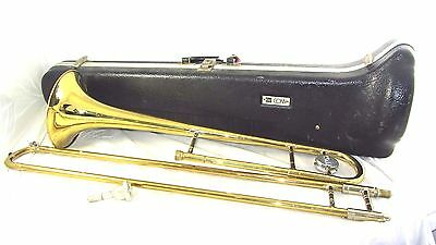 Vintage Conn Trombone # 16 H Directors Version with Case Musical Instrument
