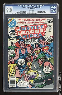 Justice League of America (1960 1st Series) #161 CGC 9.8 (1360596006)