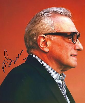 Martin Scorsese signed 8x10 photo - In Person Proof - Goodfellas, The Irishman
