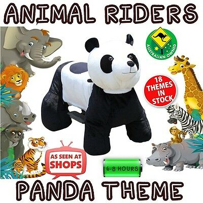 Panda - Animal Rider shopping centre rides business events kids parties riders