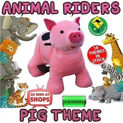 Pink Pig Ponycycle. Safari Ride on Electric Animal. Schools, Fetes, Events Kids