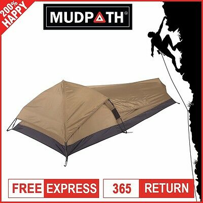 Oztrail Swift Pitch Bivy Tent 1 Person Ultralight Hiking Swag Tent - 2016 New