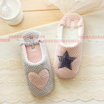 New Women's Warm Soft Indoor Slippers Cotton Sandals Houses Home Anti-slip Shoes