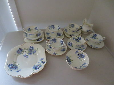 Vintage Hammersley & Co Longton Stoke on Trent England 18 Pieces Plates Cup Jug