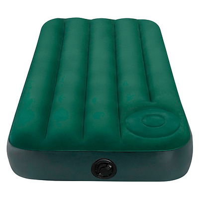 Intex Junior Single Size Downy Airbed with Built-in Foot Pump