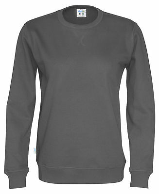 Cottover Sweatshirt Crew Neck dunkelgrau Fairtrade M, L, XL, XXL