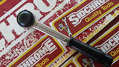 """Sidchrome Vintage 13 Series 3/8"""" Drive Fine Tooth Ratchet Made In Australia"""