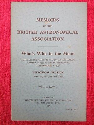 1946 Memoirs Of The British Astronomical Association Jupiter Section uc4