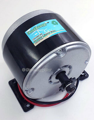 FreeEnergy 12V/24V DC Permanent Magnet Motor Generator for Wind Turbine PMA 300W