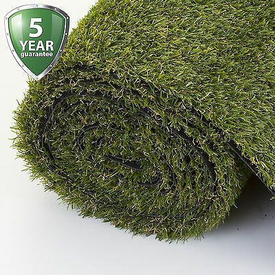 Artificial Grass Luxury 20mm Astro Garden Natural Realistic Turf Fake Green Lawn