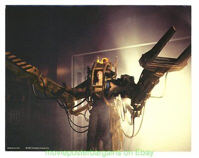 ALIENS MOVIE POSTER 11x14 Inch Near Mint LOBBY CARD Set 1986 SIGOURNEY WEAVER