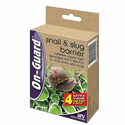 On Guard 4m Snail And Slug Barrier Insect Trap Protect Your Plants and Vegies