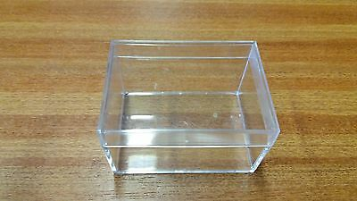 Perspex Gift Jewelry Wedding Favour Craft Boxes Small 100 Per Case