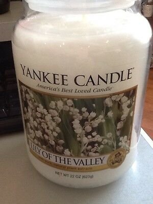 yankee candle lily of the valley uk hard to find large jar
