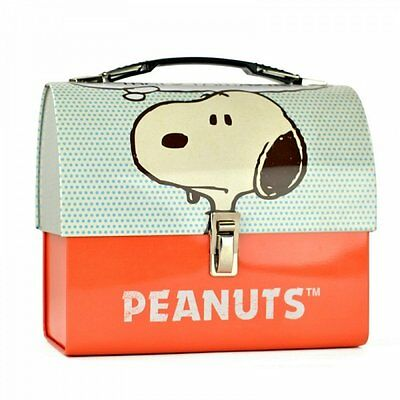 Die Peanuts - Blechkoffer Brotdose Lunchbox - Snoopy - Logo