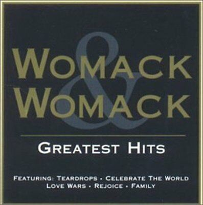 Womack & Womack Greatest Hits Cd (Very Best Of)