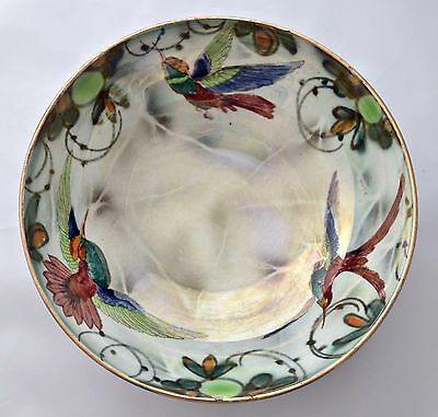 Vintage Burgess & Leigh Burleigh Ware Hand Painted Lustreware Bowl C. 1930's