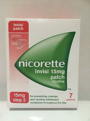 Nicorette Invisi Patch 15mg - 7 patches Step 2