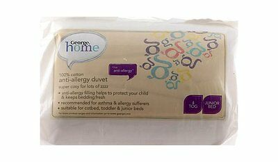 Kids Babies Anti Allergy Duvet Junior Cot,Cotbed 4 Tog Filled Duvet