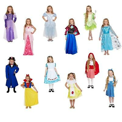 Girls Fancy Dress Costume Child Outfit Dressing Up Party World Book Day NEW
