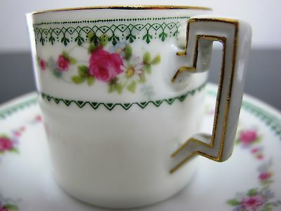 Vintage Rosenthal Thomas coffee / espresso demitasse cup and saucer. Germany