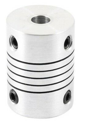 Flexible coupling 5mm x 5mm x 25mm shaft helical beam coupler 5x5x25mm
