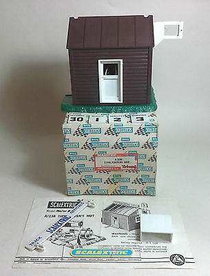 Scalextric Tri-ang Vintage 1960's A238 Timekeepers Hut (SUPERB) TESTED WORKING