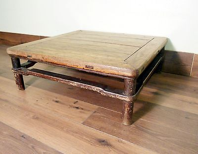 Antique Chinese Ming Square Table (5247), Circa 1800-1849