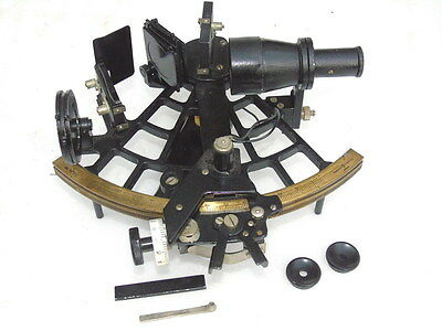 Marine Ships Nautical Tamaya Sextant With Shades & Wrench In Box