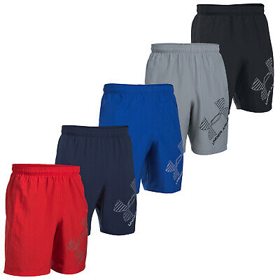 """Under Armour Mens 8"""" Woven Graphic Shorts -New Ua Sports Training Gym Pants 2017"""