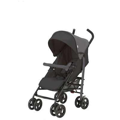 Urbini Single Baby Stroller Infant Toddler Carriage Buggy Travel, Black NEW